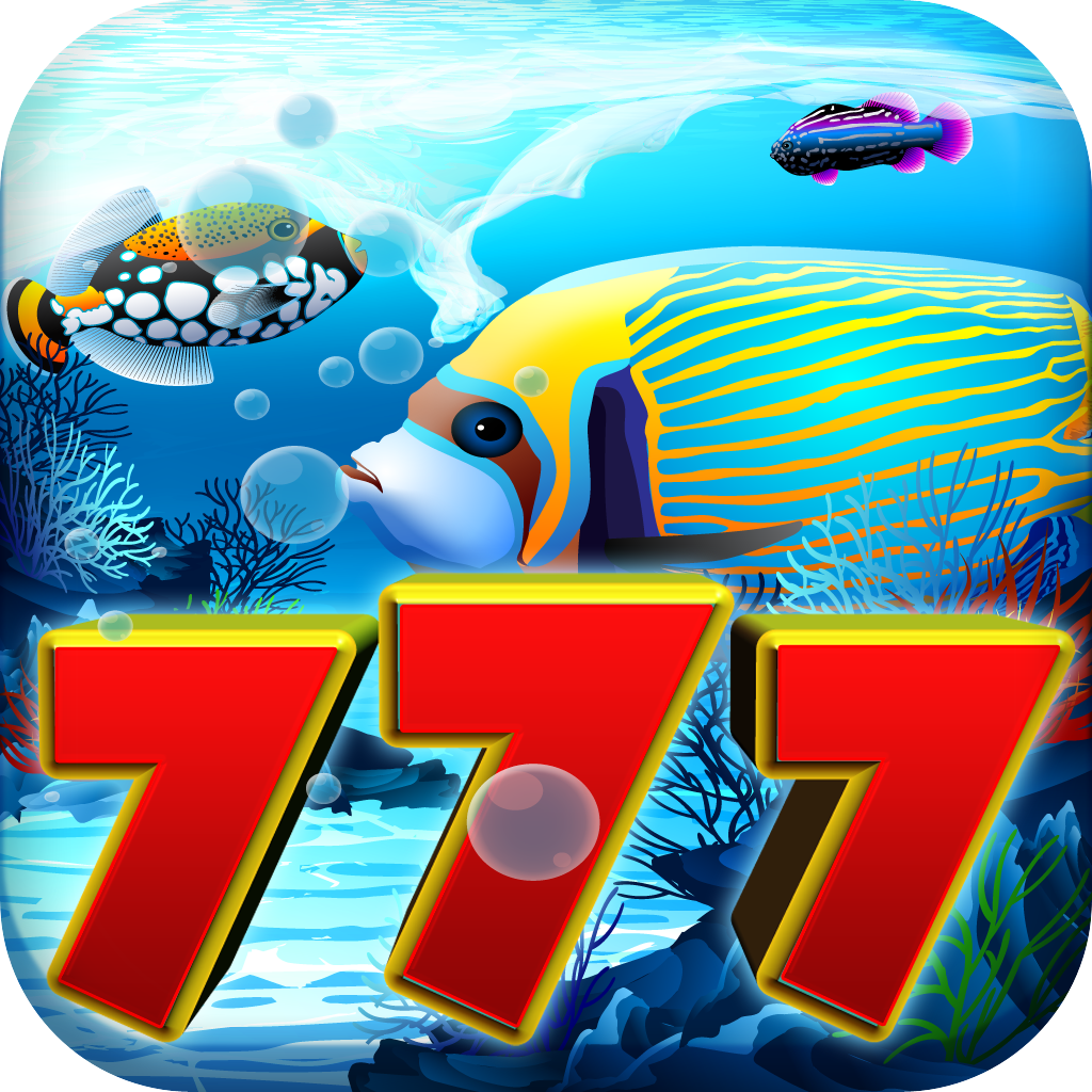 A Fish for Big Time Riches Casino - Slots with Bonus Wheel